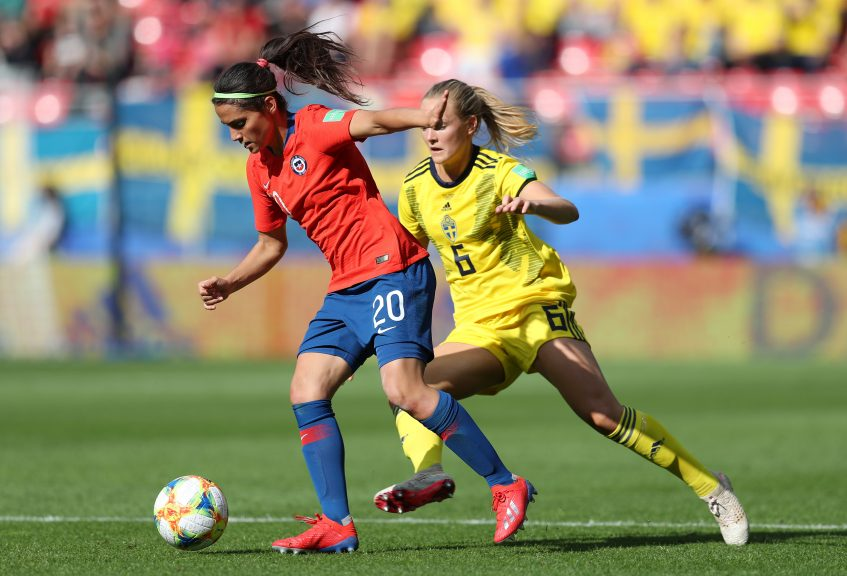 Chile v Sweden: Group F - 2019 FIFA Women's World Cup France